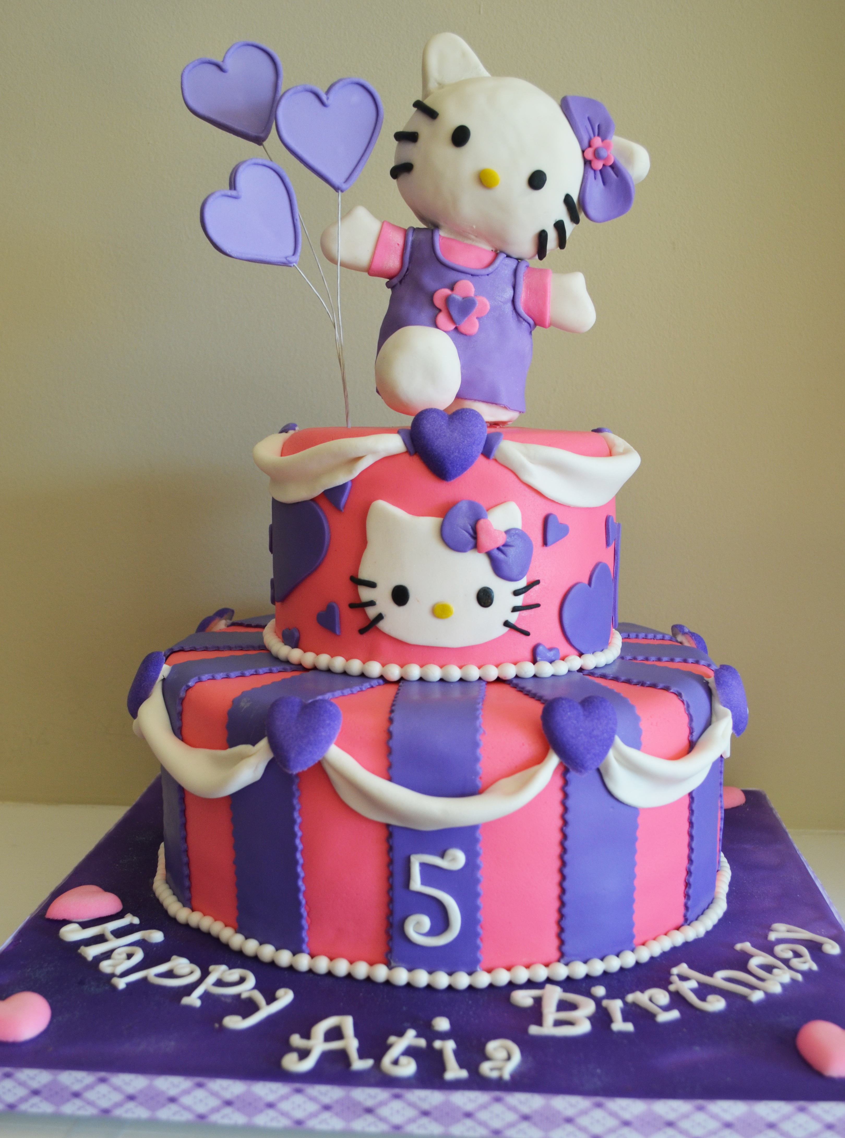 Hellokitty Birthday Cakes