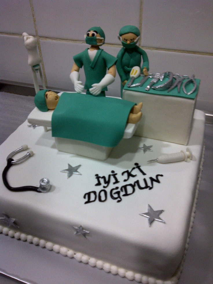 Doctor Birthday Cakes