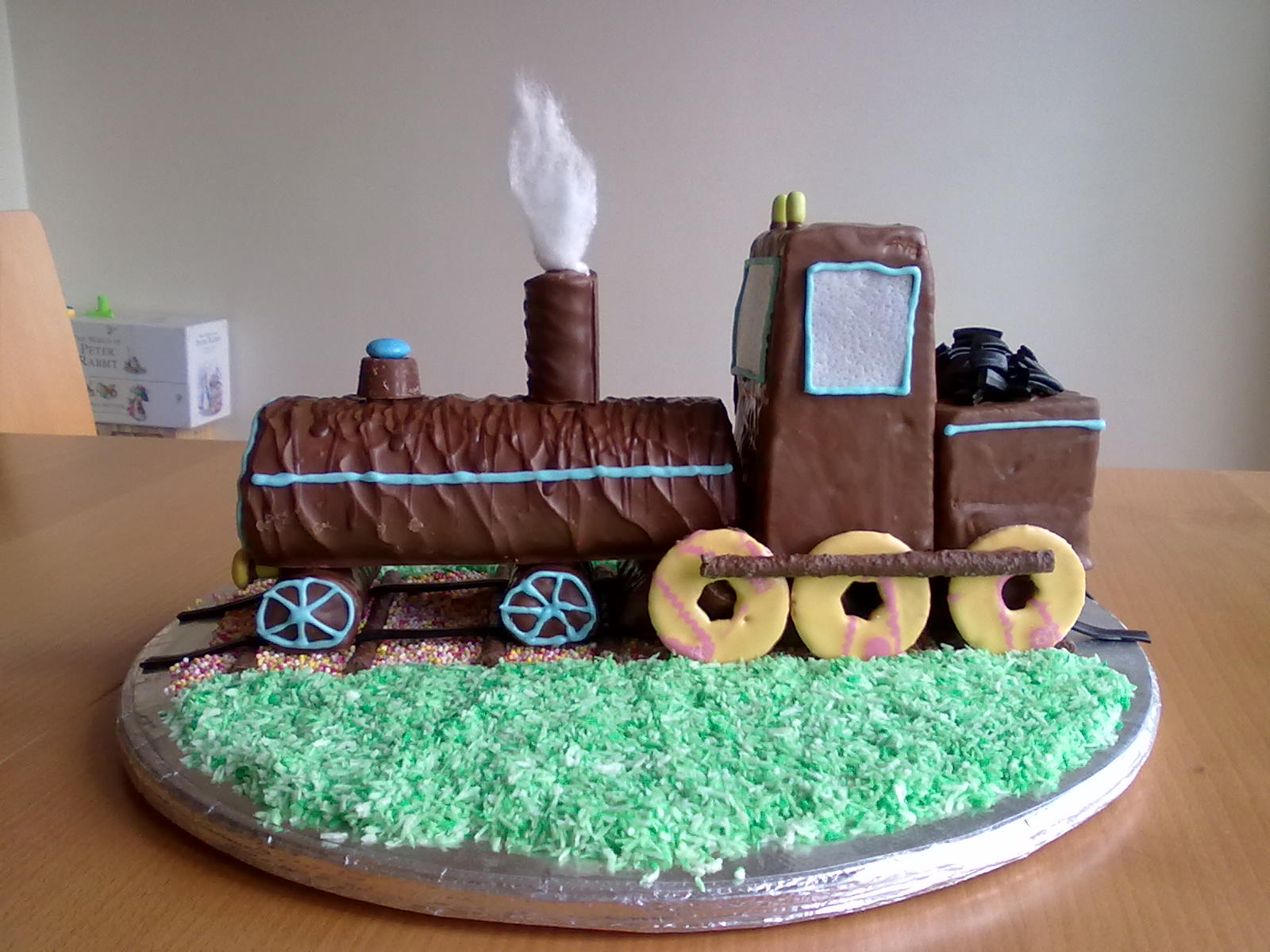 Train Birthday Cakes