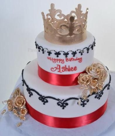 Queen Birthday Cakes
