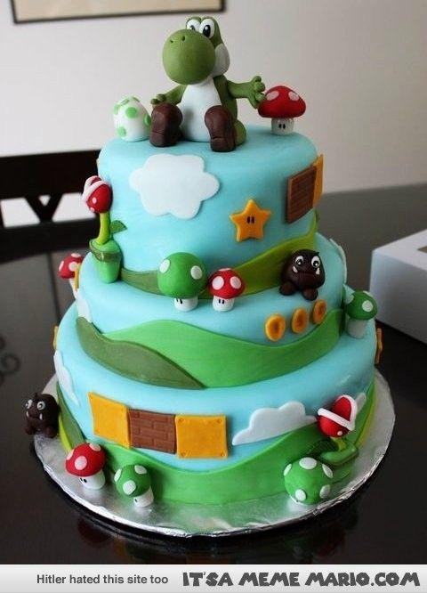 Nintendo Wedding Cakes