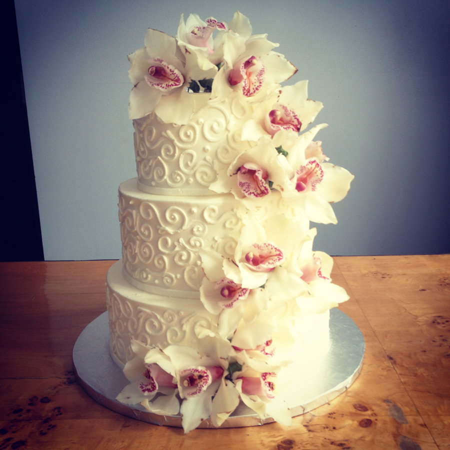Flowers Wedding Cakes