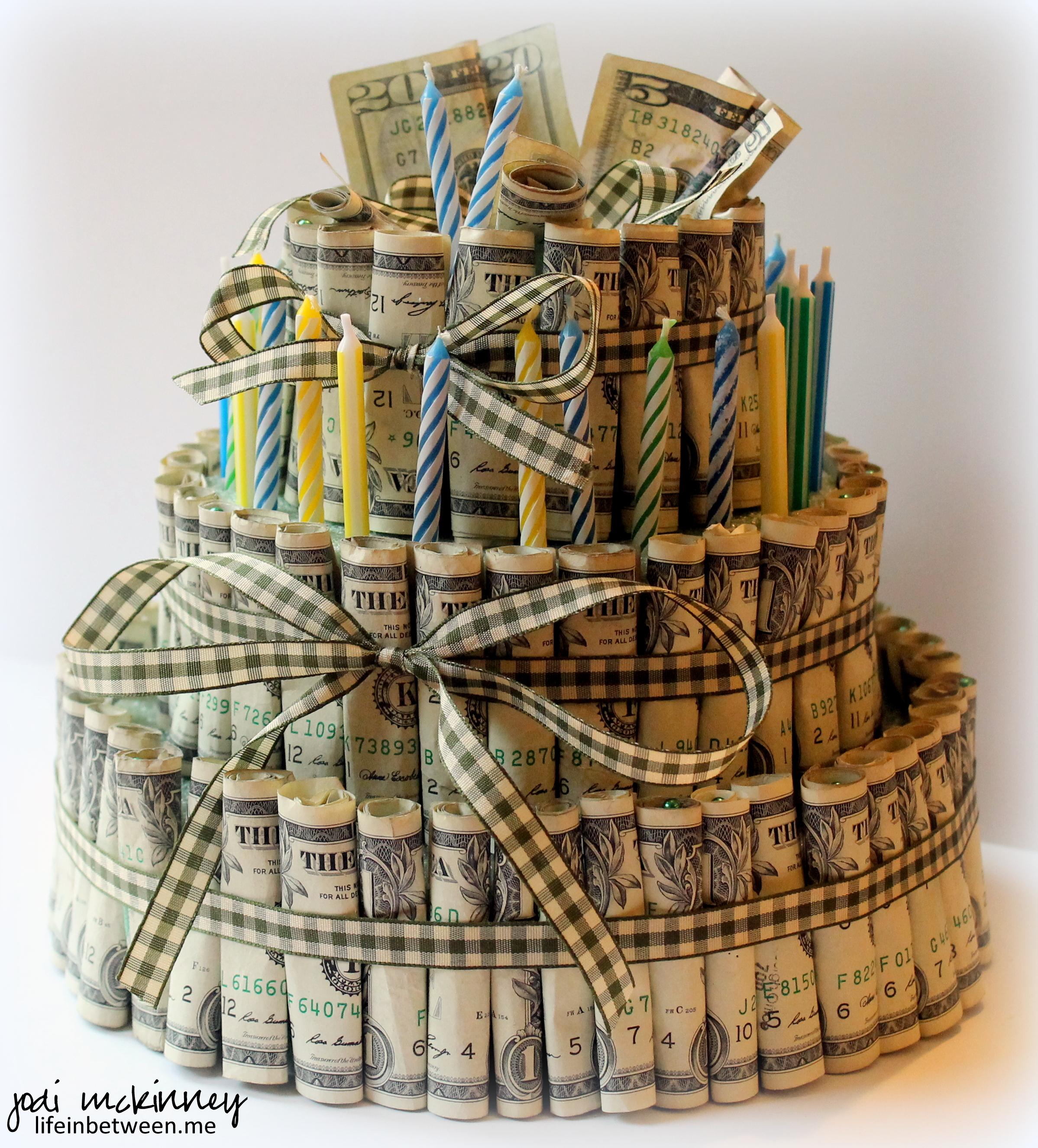 Gamble Design Cake Money Birthday Cakes