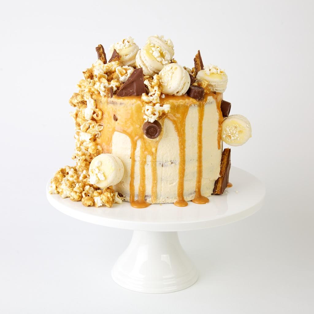 Caramel Wedding Cakes