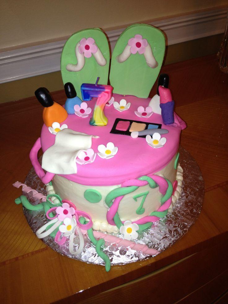 Spa Birthday Cakes