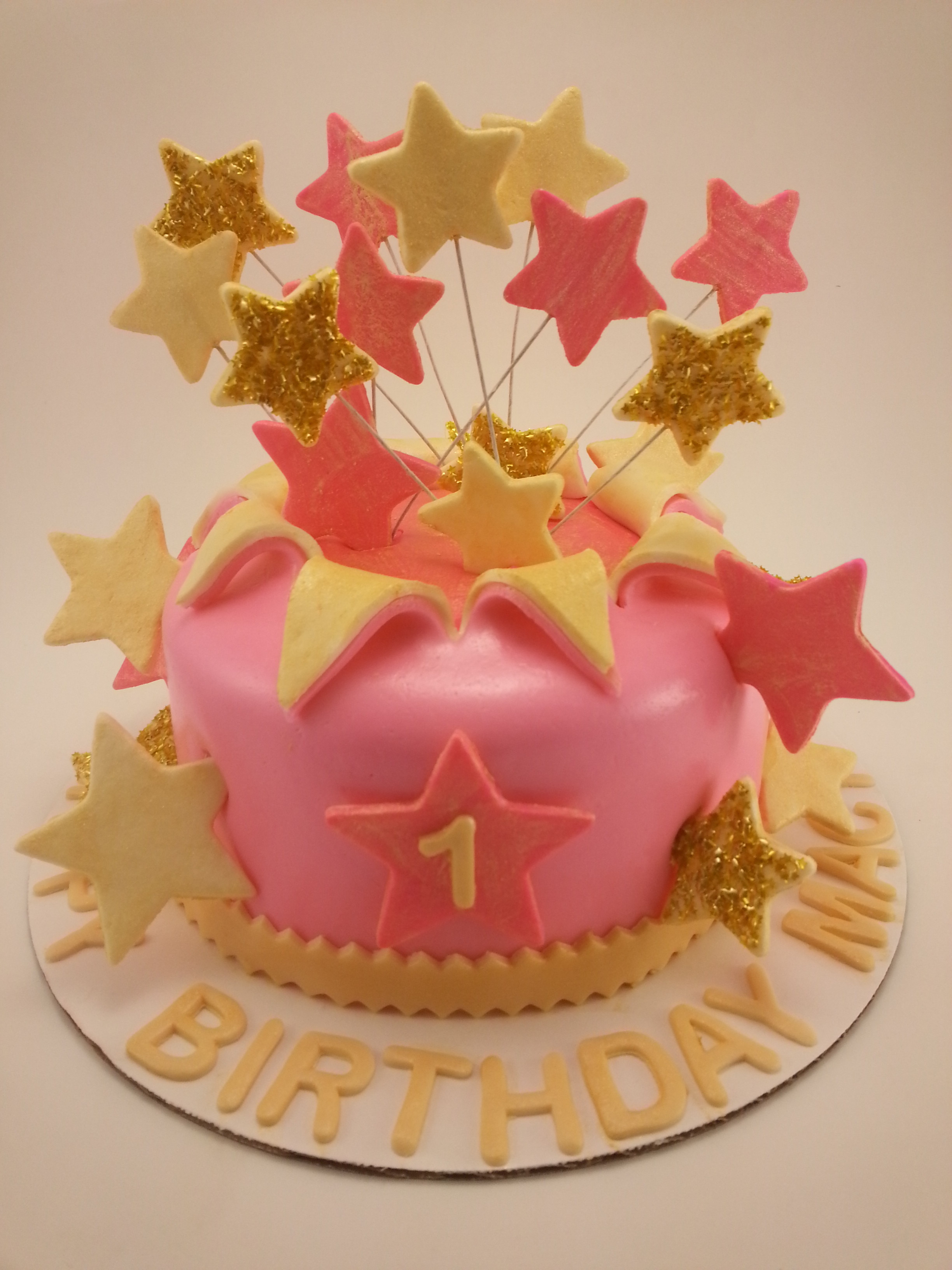 Star Birthday Lily S Twinkle Twinkle Little Star First Birthday