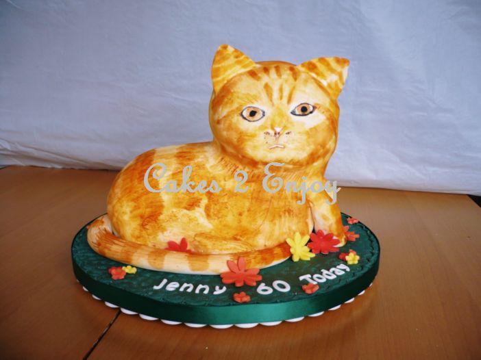 Ginger Birthday Cakes