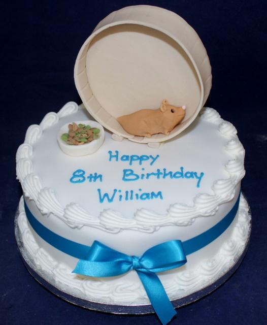 Hamster Birthday Cakes