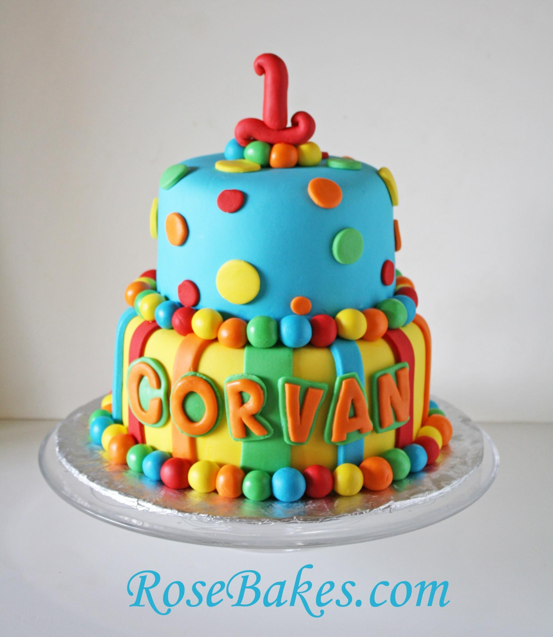 Dots Birthday Cakes
