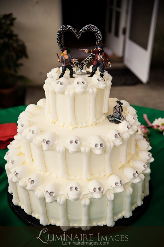 Pirate Wedding Cakes