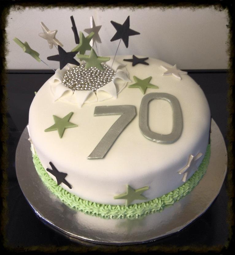 70th Birthday Cake Dad Bday Pinterest