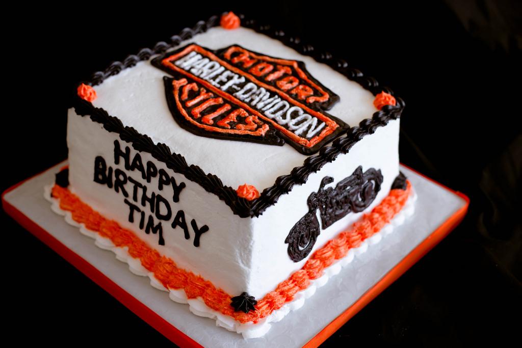 Harley Birthday Cakes