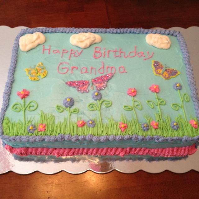 Grandma Birthday Cakes