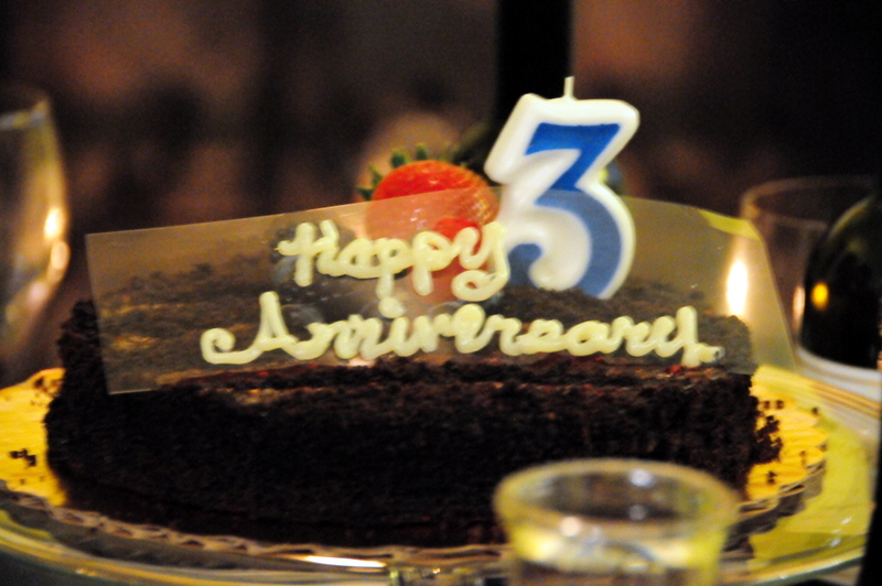3rd anniversary cakes
