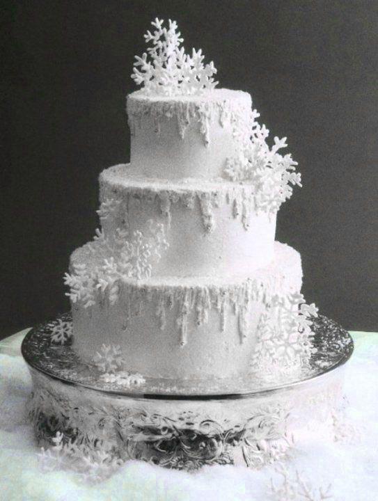 snowflake wedding cakes rh cakeclicks com