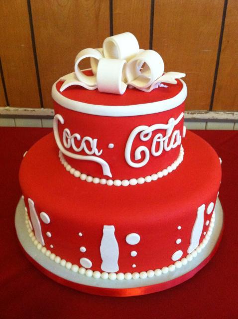 Coke Birthday Cakes