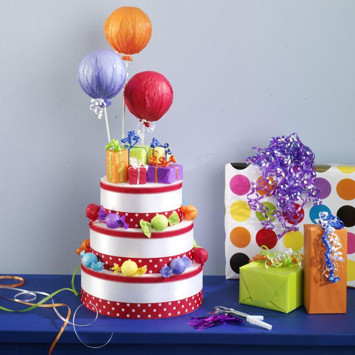 Fake Birthday Cakes