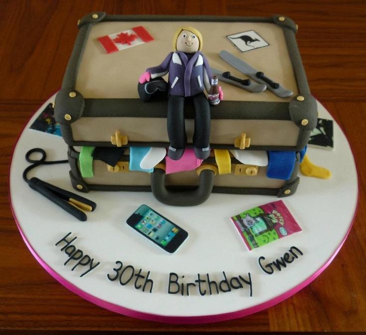 Suitcase Birthday Cakes