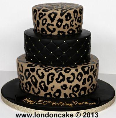 25 Best Ideas About Leopard Cake On Pinterest