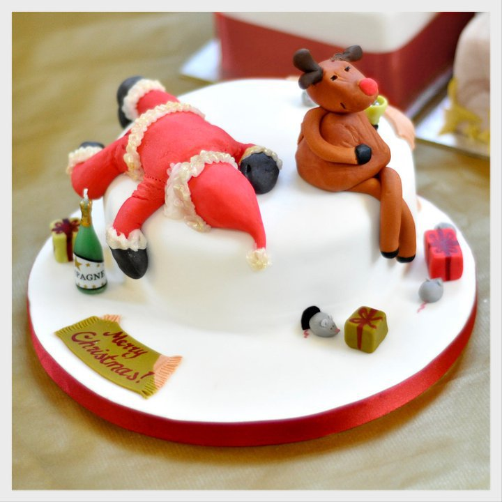 decorate christmas cakes - Christmas Dessert Decorations