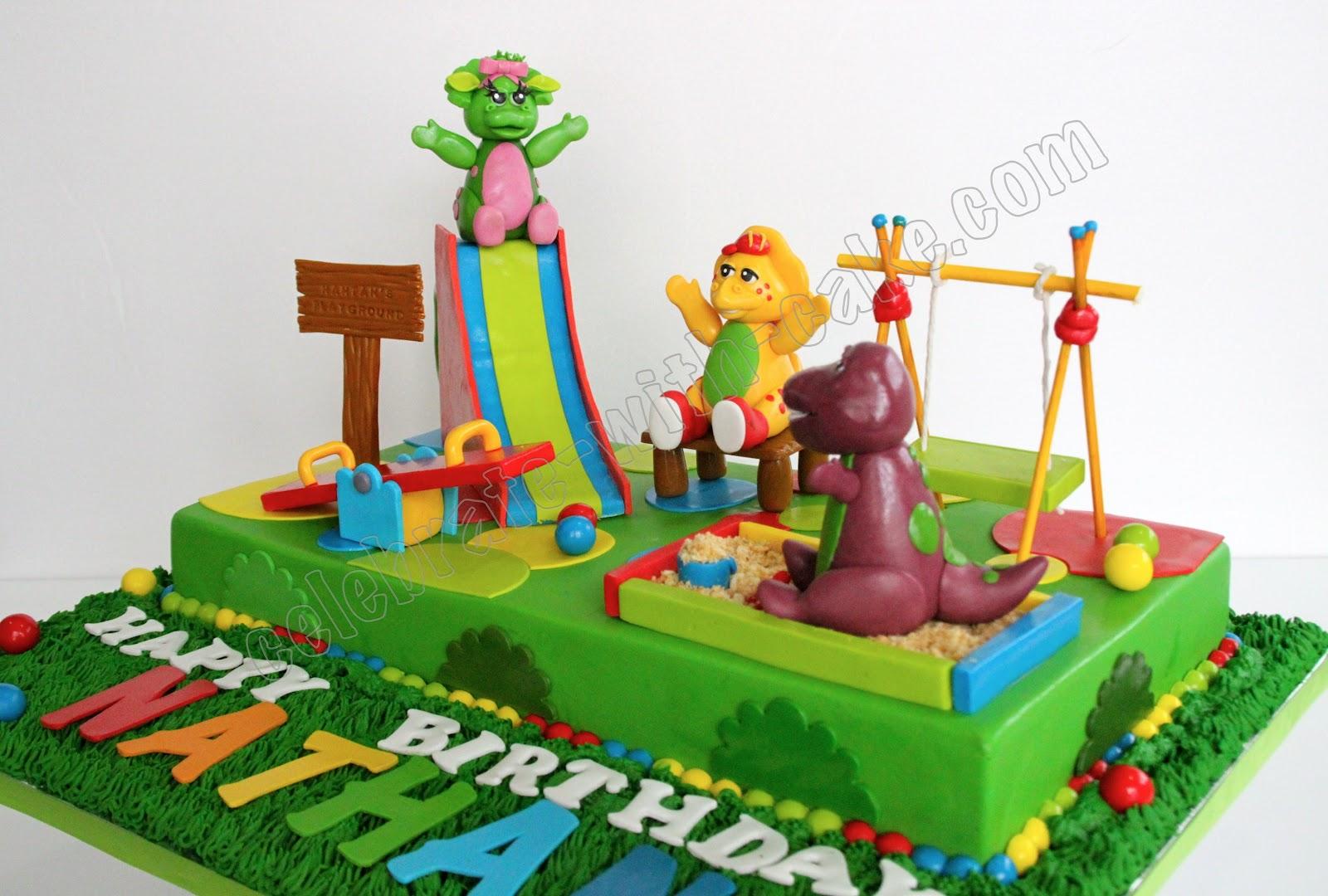Playground Birthday Cakes