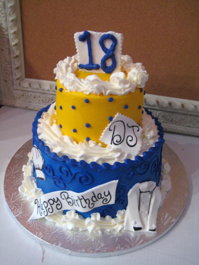 Happy 18 Birthday Cake Imgkid The Image Kid