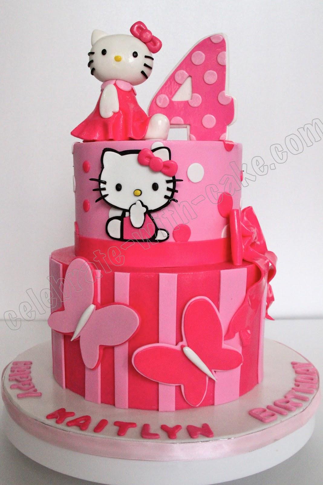 Torta Kitty On Pinterest Hello Cake