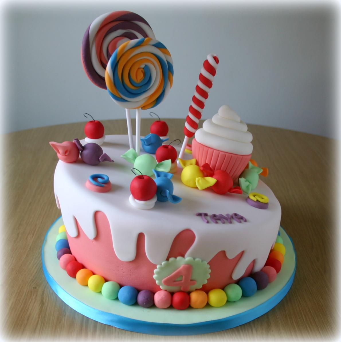 Sweets Birthday Cakes