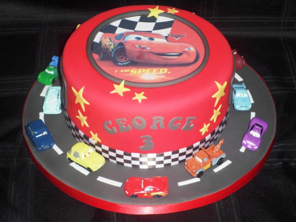 Disney Cars Birthday Cake: Cars Birthday Cakes