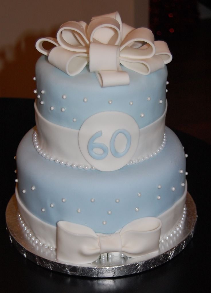 60Th Birthday Cakes