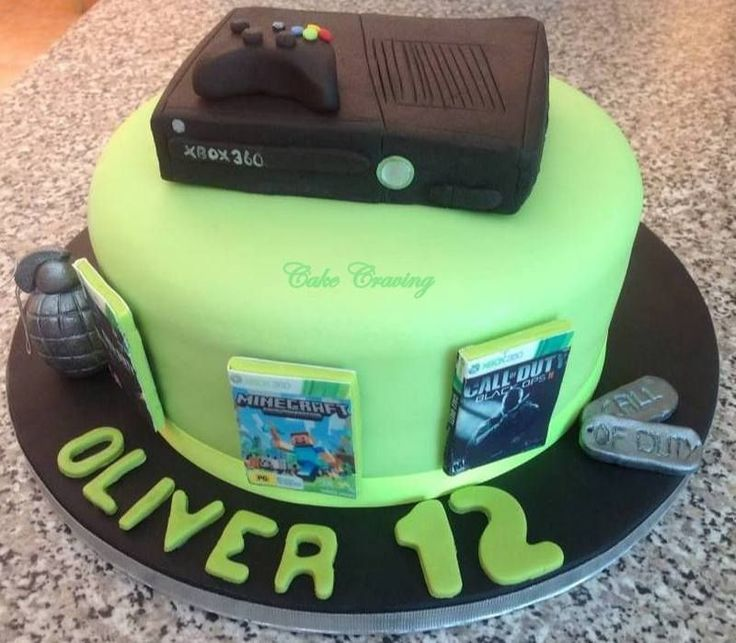 Xbox Cake Tutorial Best New Black 360 Console Controller