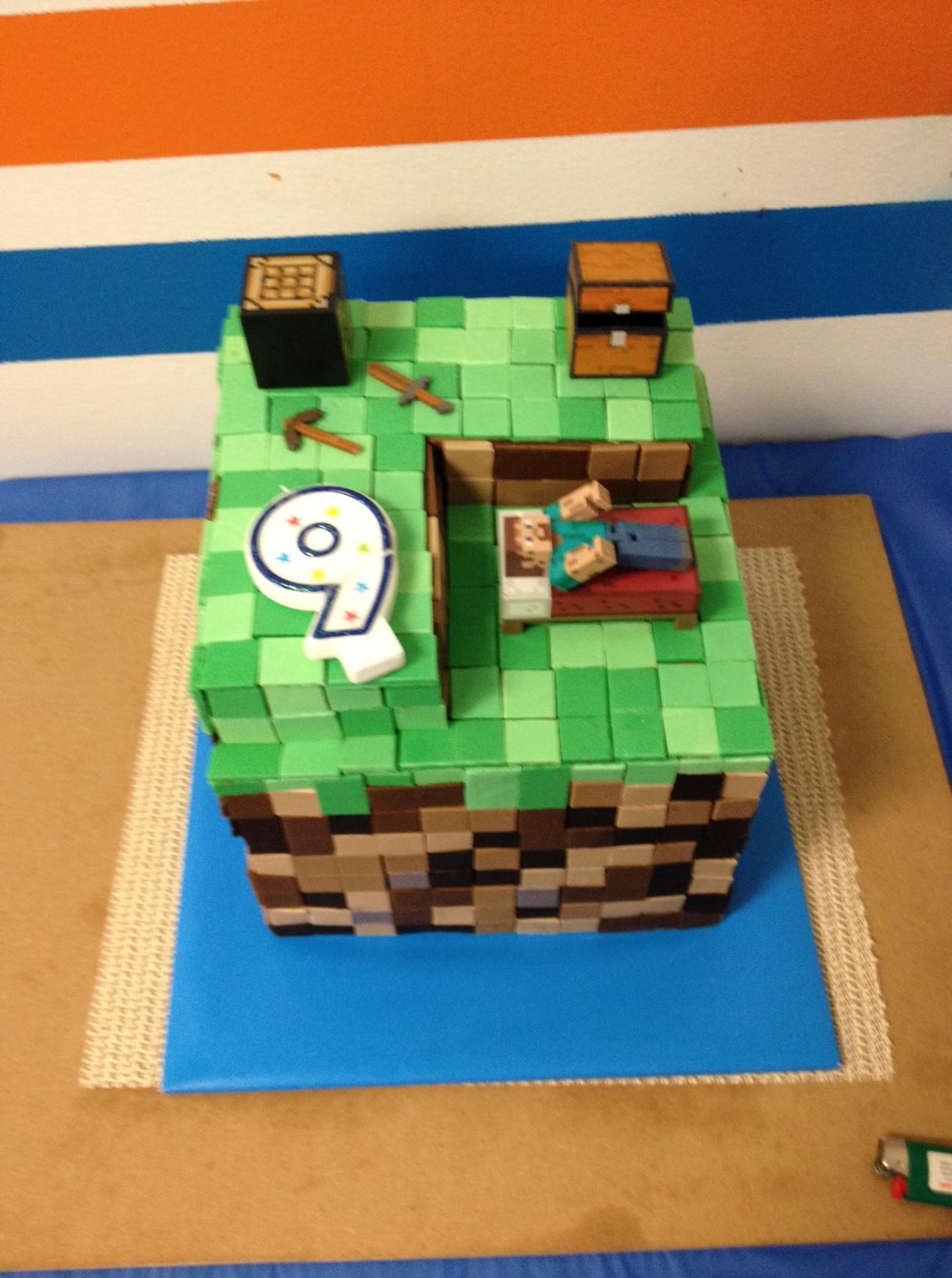Birthday Cake Ideas 9 Year Old Boy