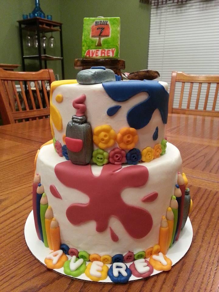 Art Birthday Cakes