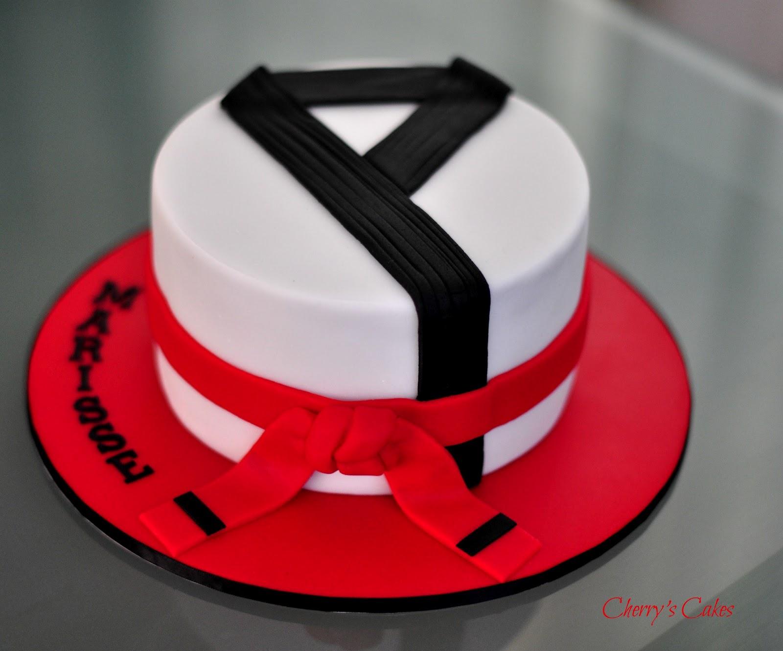 Taekwondo Birthday Cakes
