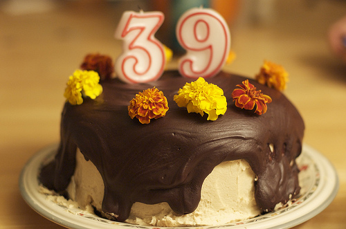 39th Birthday Cake Images Happy