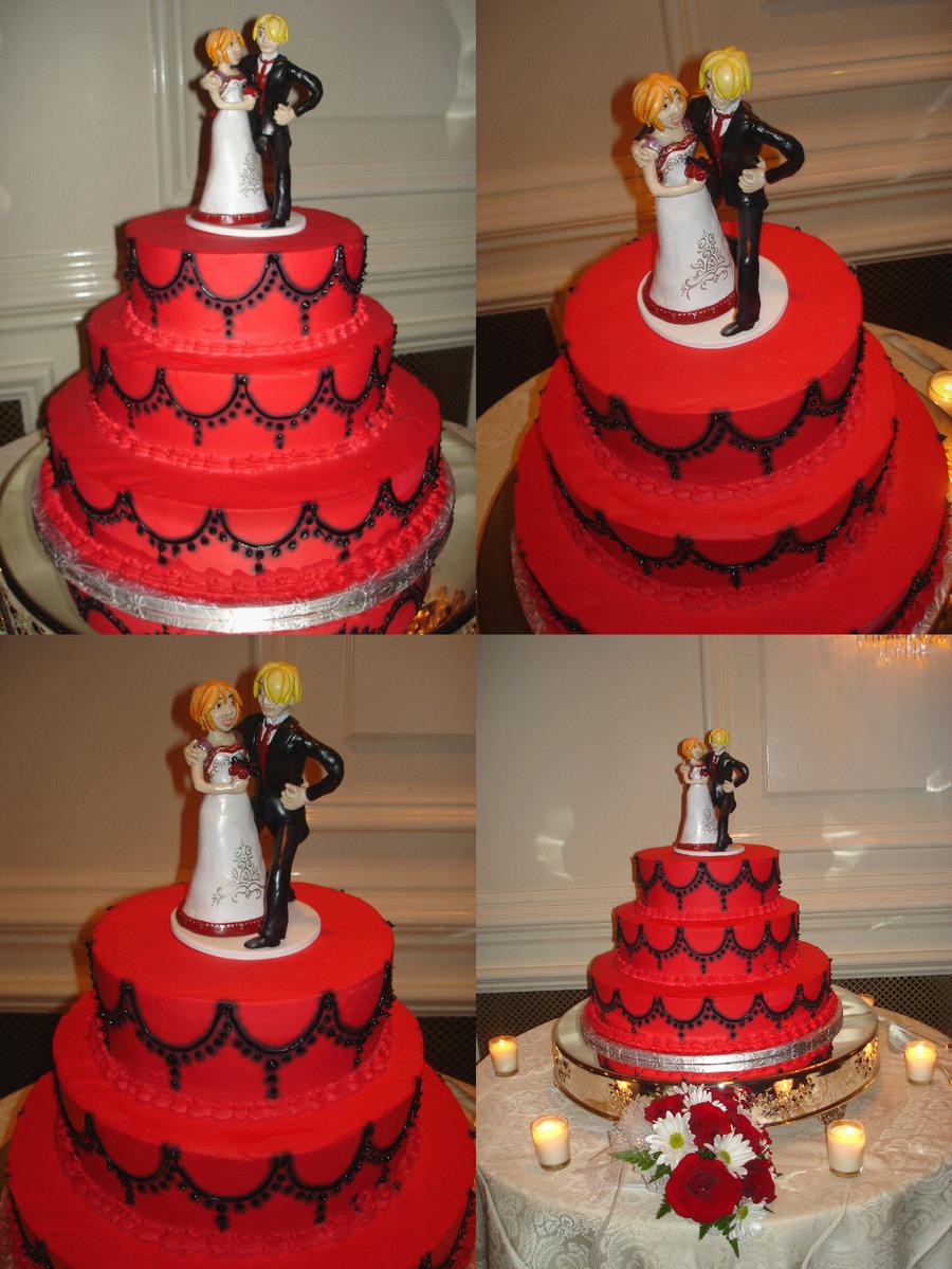 Anime Wedding Cakes