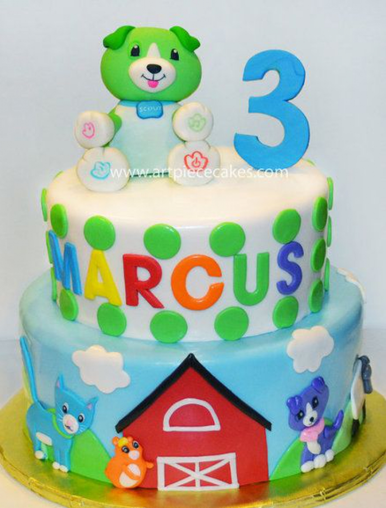 Leapfrog Birthday Cake Doulacindy