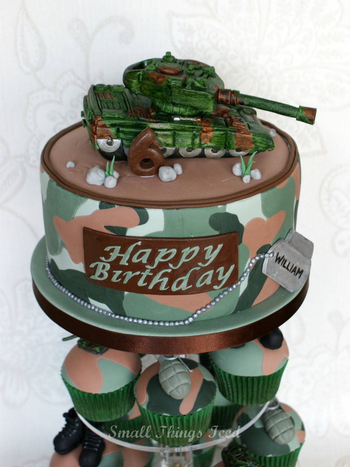 Army Birthday Cakes