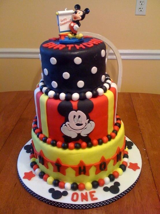Mickeymouse Birthday Cakes
