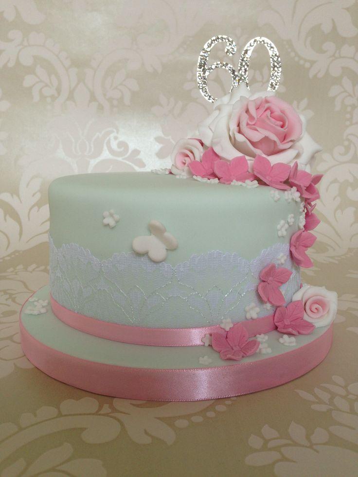 60th Birthday Cake Ideas Flowers Healthy Flower