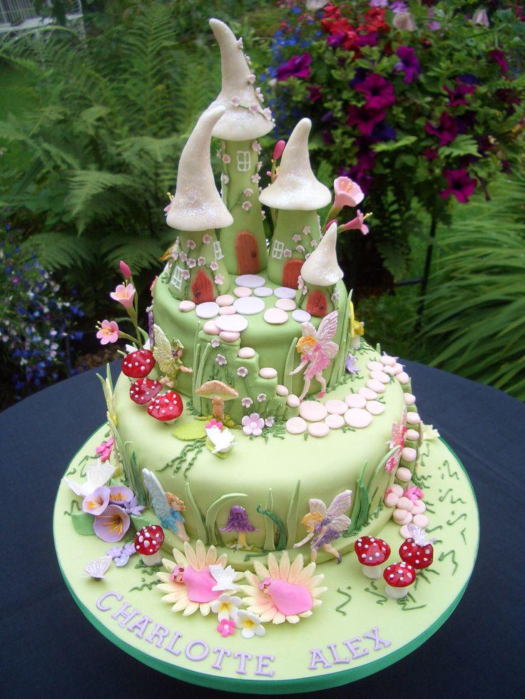 Fairy Birthday Cakes