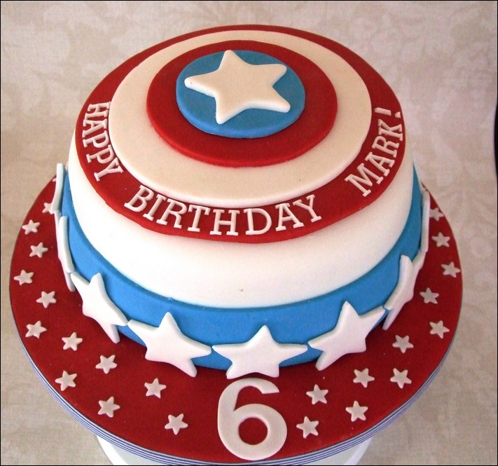 Captain America Birthday Cake Tesco Ideas