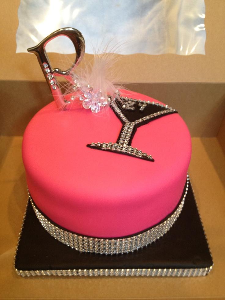 Martini Birthday Cakes