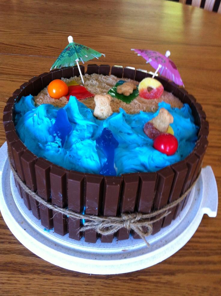 Ocean Birthday Cakes