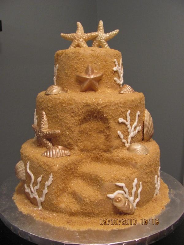 Sandcastle Birthday Cakes