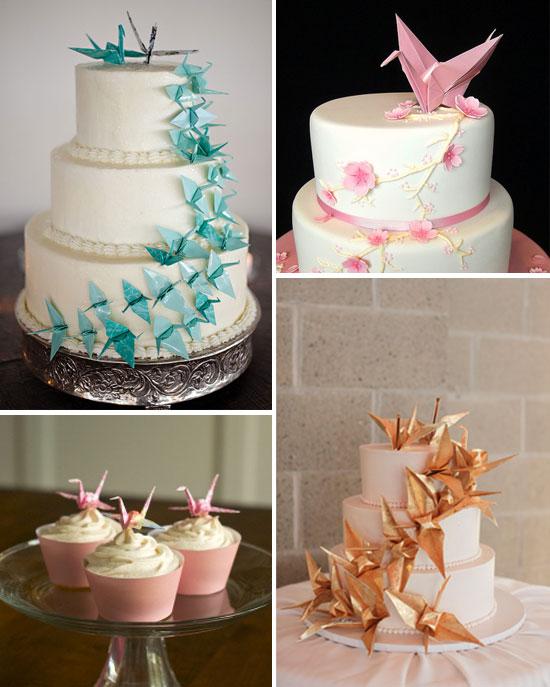 Origami Wedding Cakes