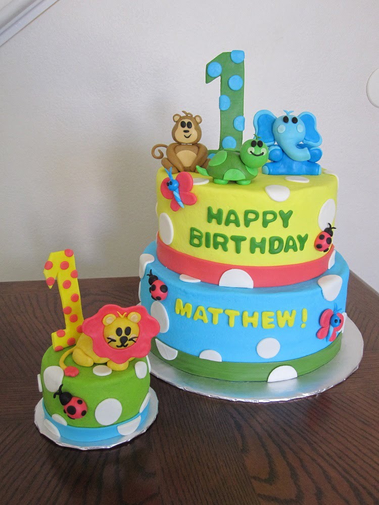 Safari Birthday Cakes