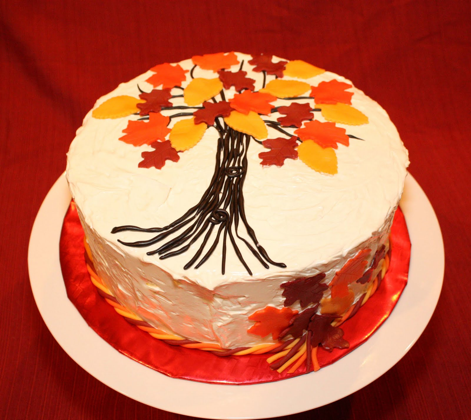 Fall Themed Cake Ideas Topsimages