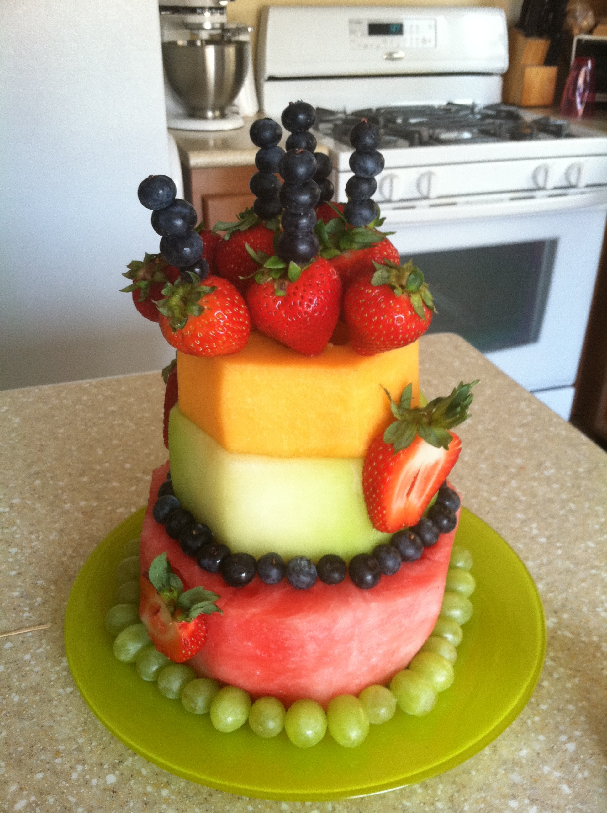 Birthday Cakes Source Made Of Fruit Ice Cream Cup