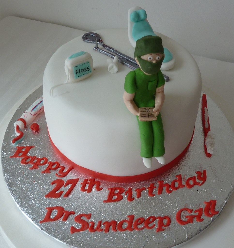 Dentist Birthday Cakes